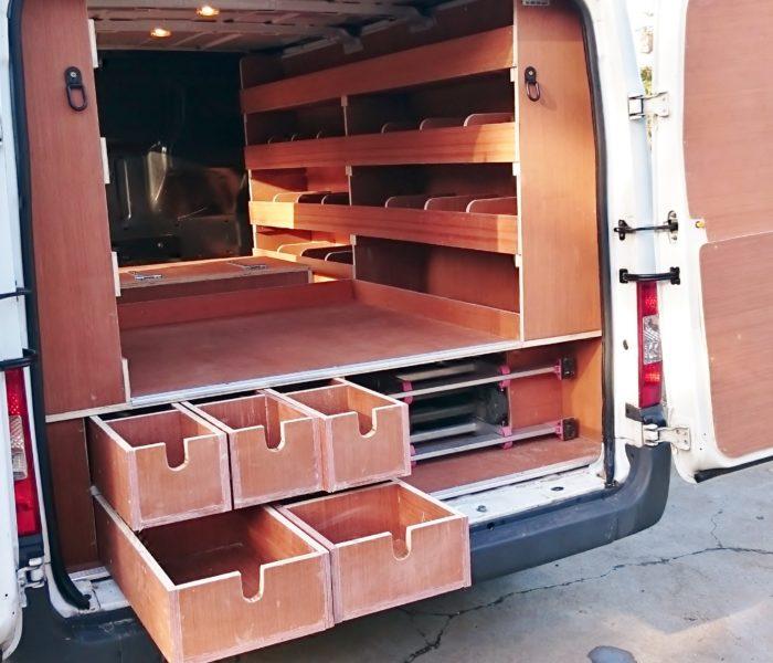 VanKit Double Storage Drawers