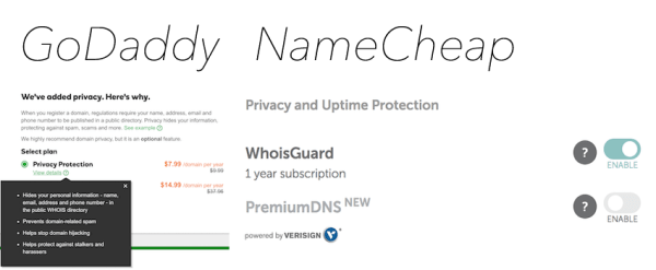 Website Domain Privacy