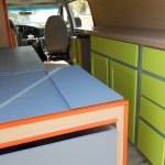 Campervan kitchen and storage for sale
