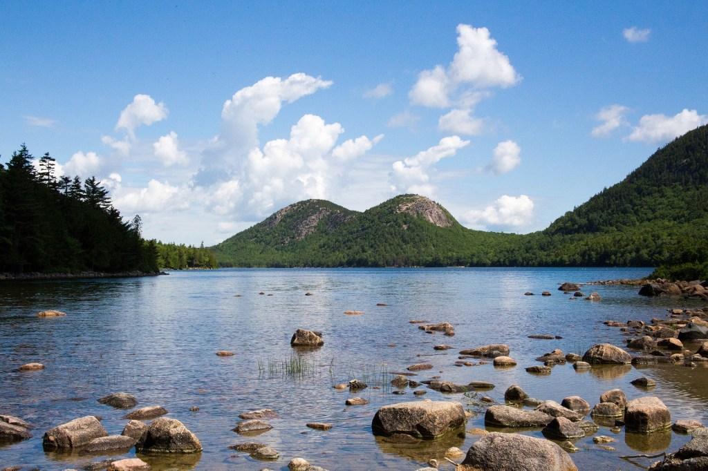 Jordan Pond Acadia National Park - VanLife summer road trips