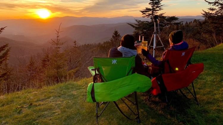Blue Ridge Parkway Mountain Sunset