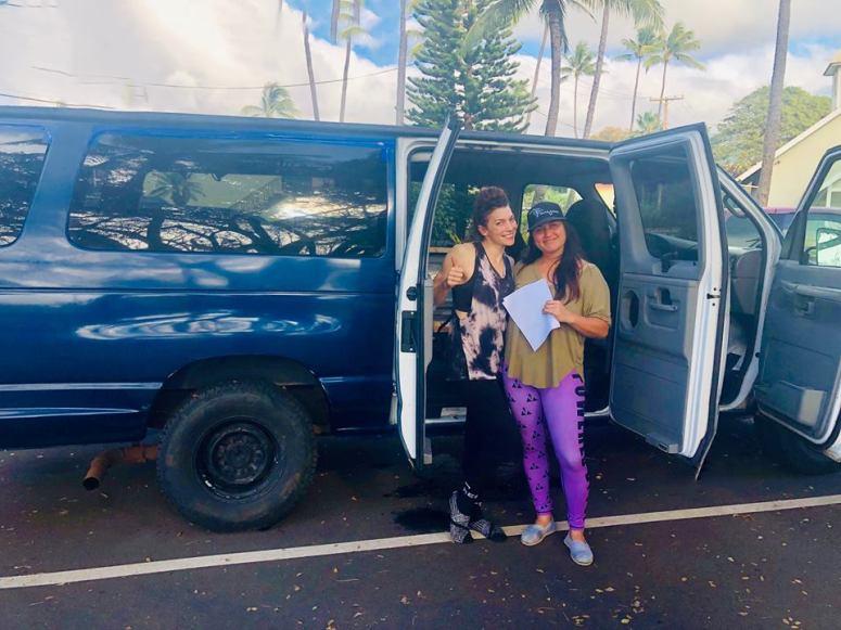 pole fitness teacher dancer colorado boulder royal blue maui campervan rental vanlife maui