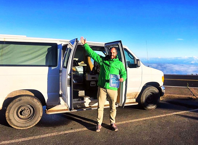 cloud 9 camper van life maui haleakala vanlifemauihawaii offgrid vanlife fully equipped