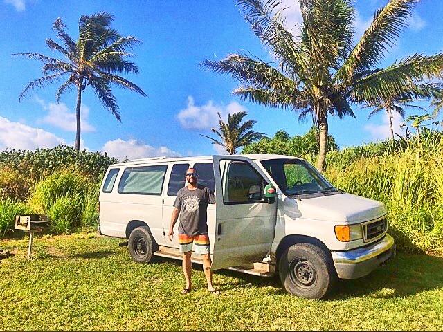 cloud 9 camper van life maui haleakala vanlifemauihawaii offgrid vanlife fully equipped