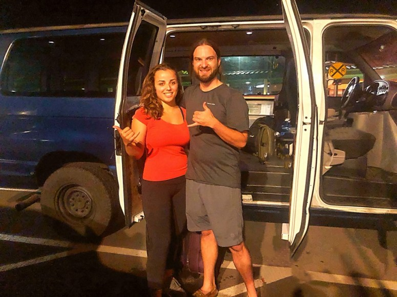 royal blue camper van guest los angeles vanlife maui van life in maui fully equipped campervan
