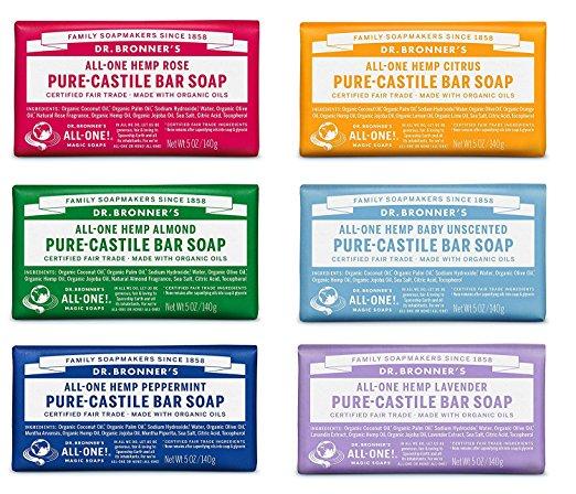 Dr. Bronner's Organic Pure Castile Liquid Soa