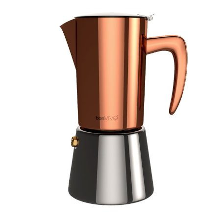 bonVIVO Intenca Stovetop Espresso Maker #vanlife
