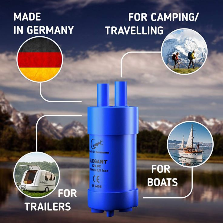 12V Portable Submersible Water Pump