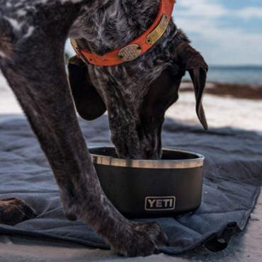 Yeti dog water bowl