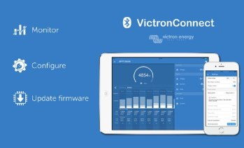 victon phone app for conversion van solar controllers