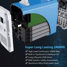 bluetti 2400wh solar generator