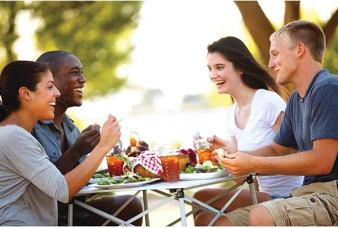 Best Camp Table for Sprinter van life #vanlife #vanliving #sprintercampervan