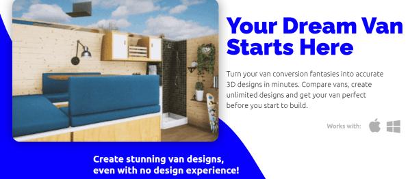 Vanspace 3d van design software #vanlife