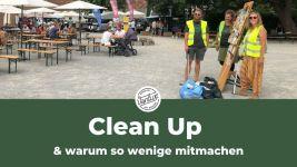Clean Up's & warum so wenige wirklich was machen