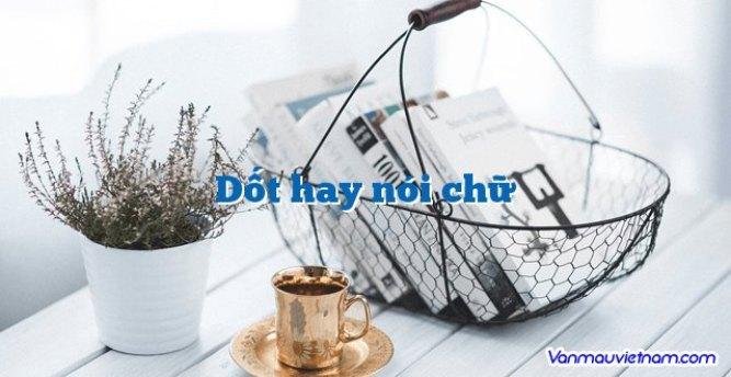 Dốt hay nói chữ - Văn mẫu Việt Nam