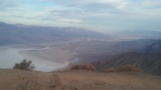 The view of Death Valley from atop Dante's View, which is accesible by car. FAITH MECKLEY