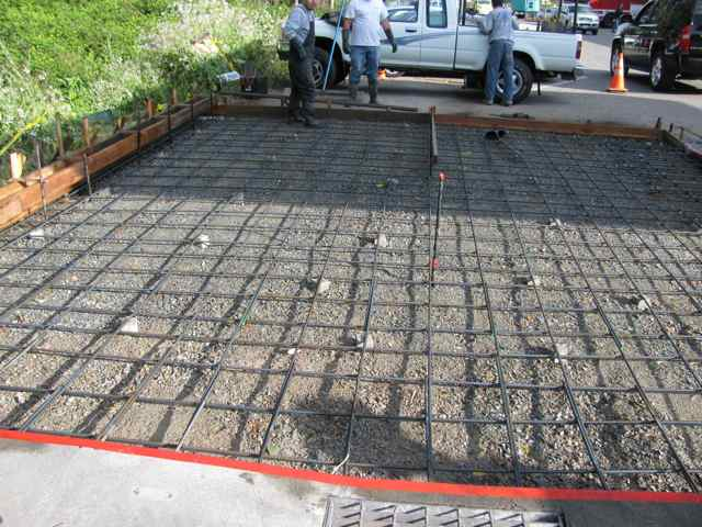 Concrete Contractor  Rebar Installation