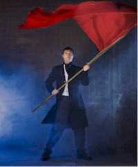 Jeffrey Victor in the Arts Club Theatre Company's production of Les Misérables. Photo by David Cooper.