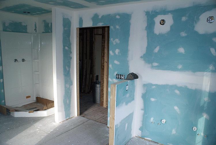 Murs en plâtre