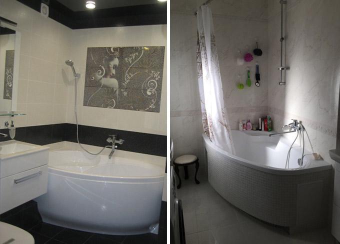 ванная комната дизайн маленькой ванной 5