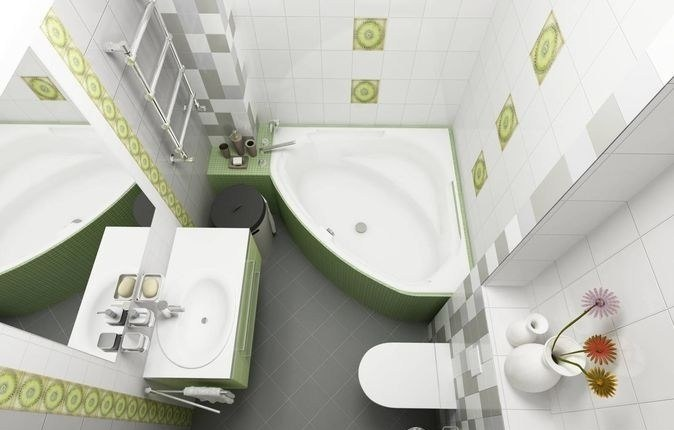 дизайн ванной комнаты фото 4 кв м с туалетом 5