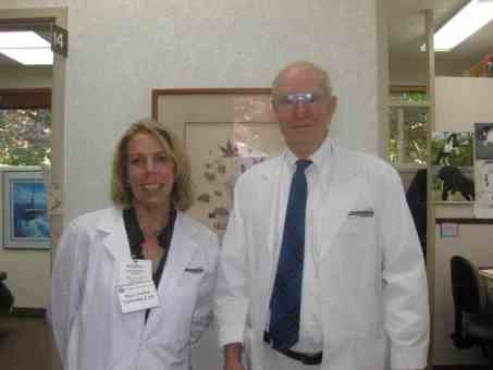 """Mary Louise completes a """"mini-internship"""" with the Medical Society of Marion and Polk Counties"""