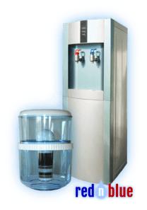 vanndispenser-standalone-rednblue