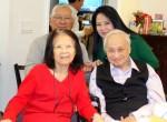 Vợ chồng Minh Đức Hoài Trinh và nhạc sĩ Lam Phương