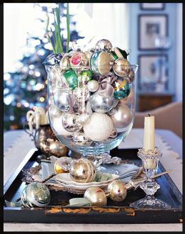 Kerstballen verzameling