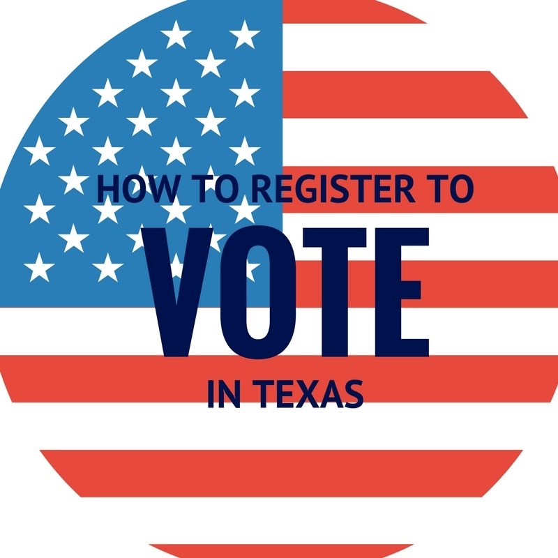 How to register to Vote in Texas