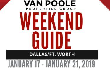1.18.19 – 1.21.19 Dallas Ft. Worth MLK Jr. Weekend Guide