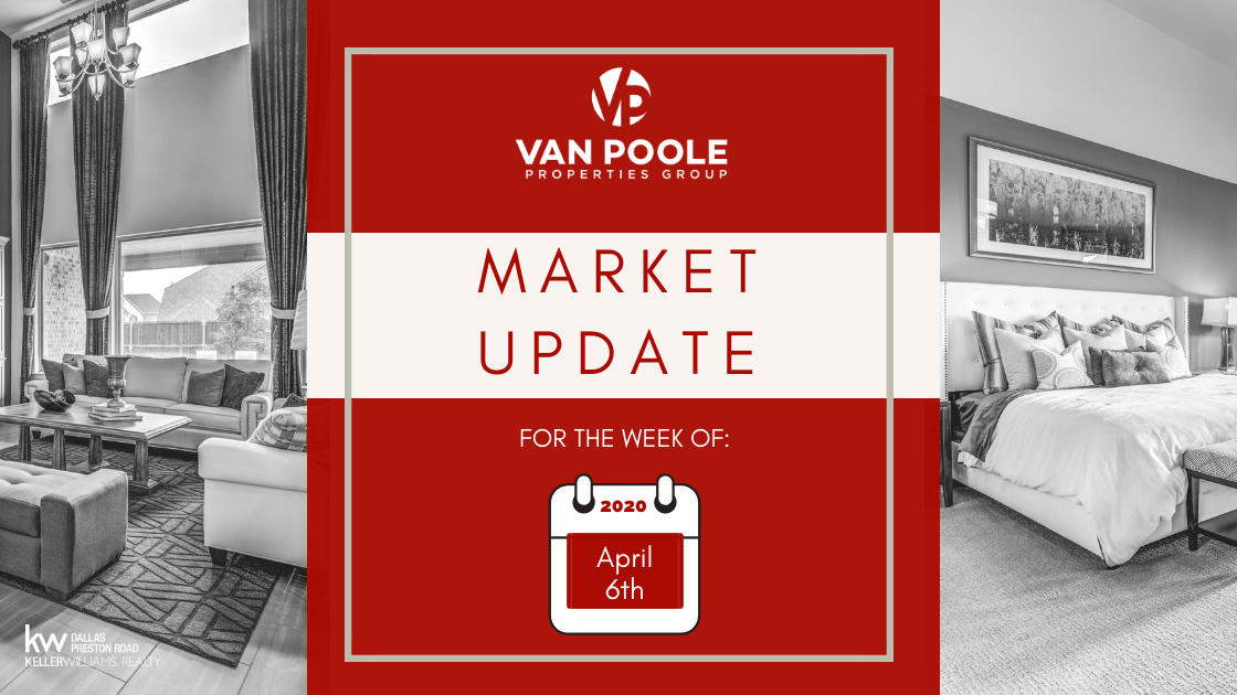 Market Update – April 6, 2020 – Dallas-Fort Worth Real Estate