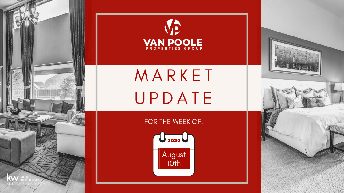 Market Update – August 10, 2020 – Dallas-Fort Worth Real Estate