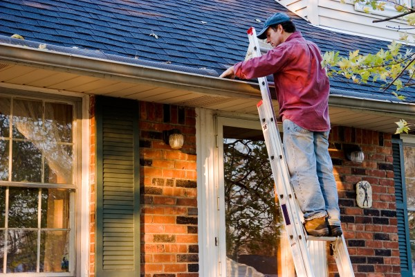 Fall Maintenance Gutters