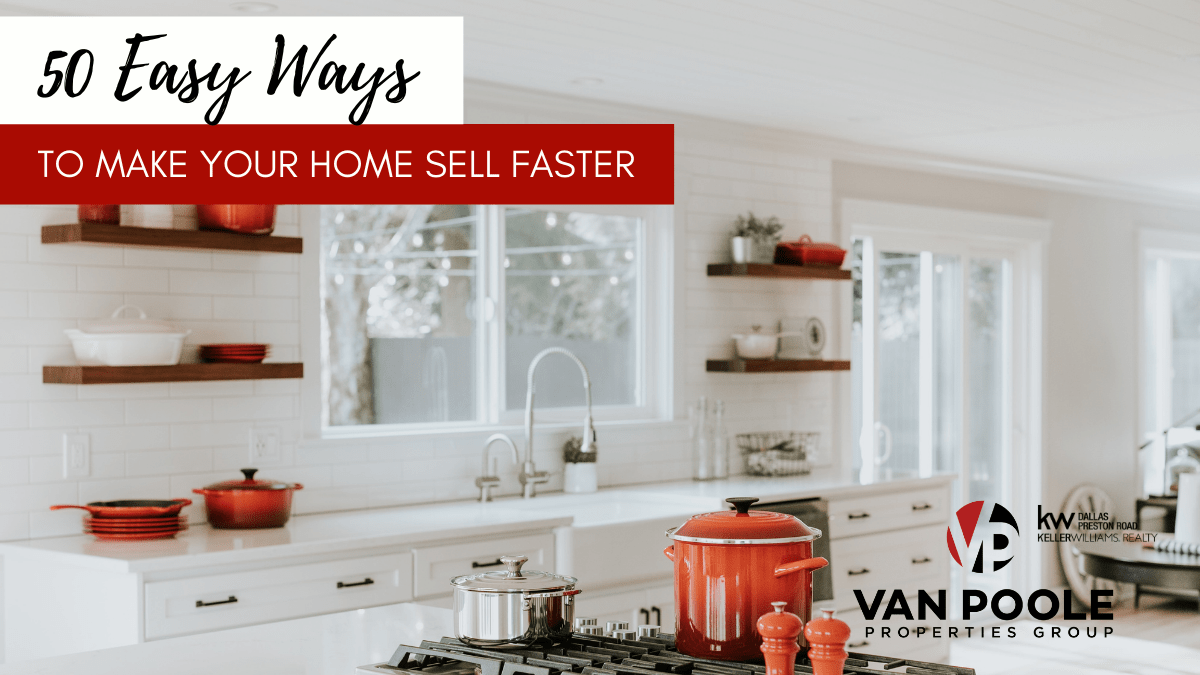 50 Easy Ways to Make Your Home Sell Faster