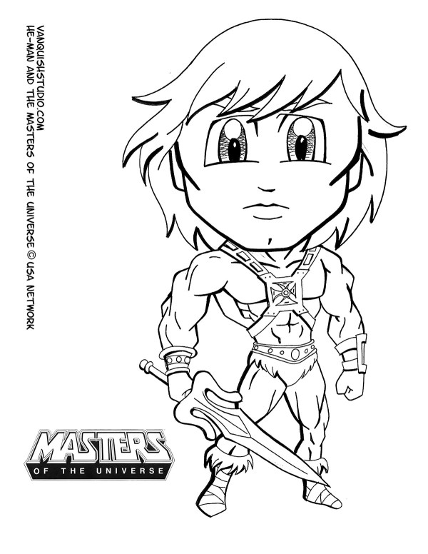 he man coloring pages # 8