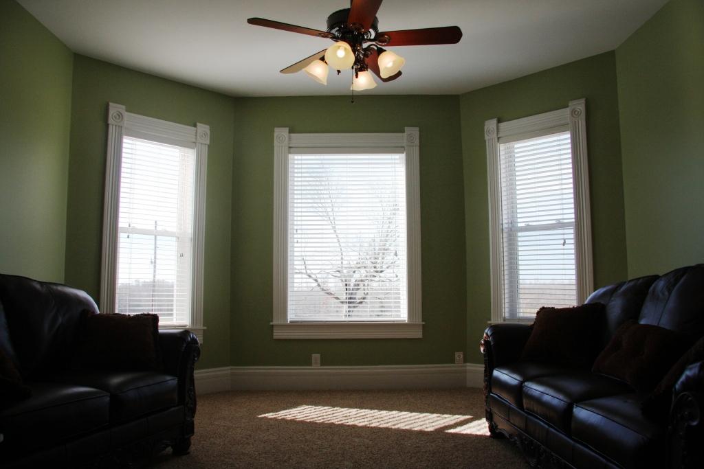 Sunroom after