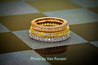 Stack Rings on Chessboard