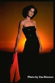 Tina at Sunset