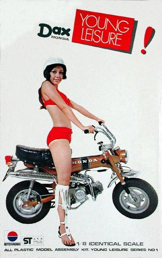 Monkey Honda dax réplica ST 70