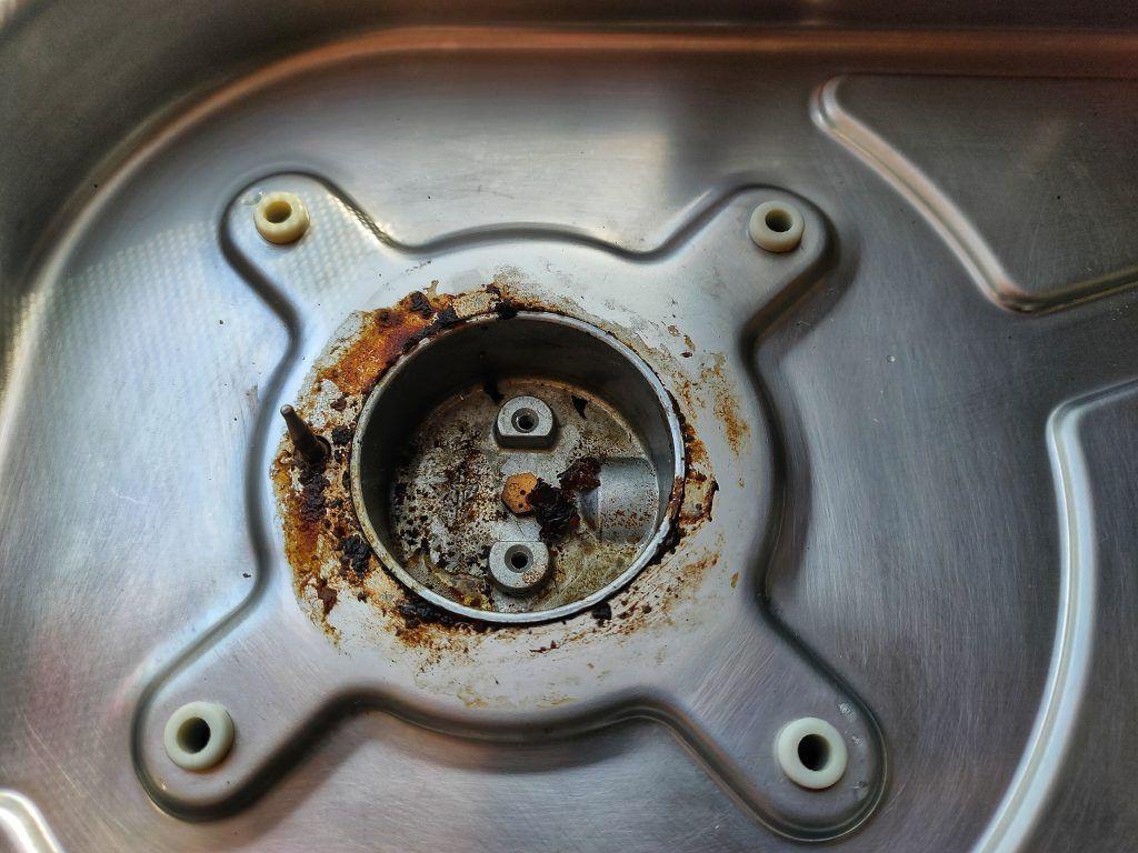 Limpieza gas cocina dometic Camper autocaravana