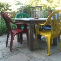 How To Paint Plastic Chairs College Dorm Room Patio Table 1 Wall Decal