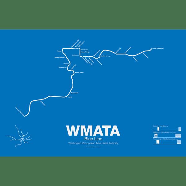 WMATA Blue Line