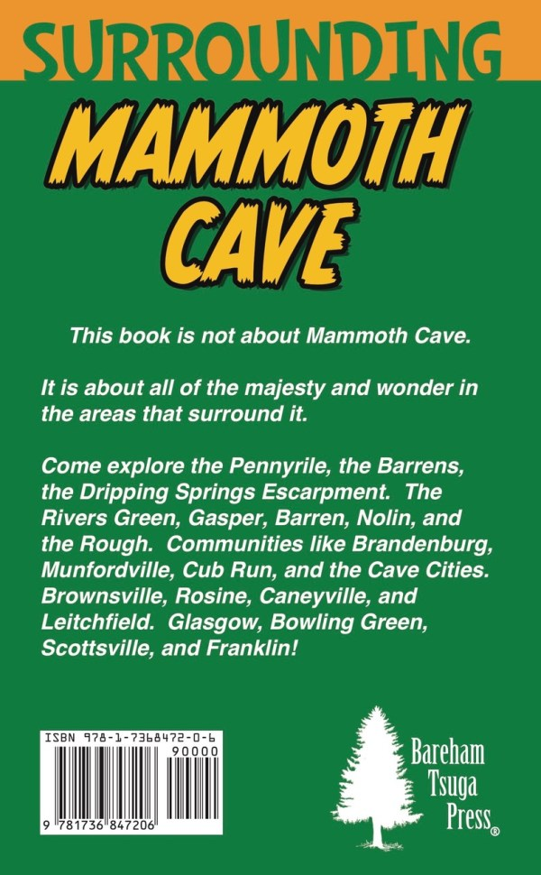Back cover for Surrounding Mammoth Cave