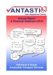Annual Report Vantastic 2010