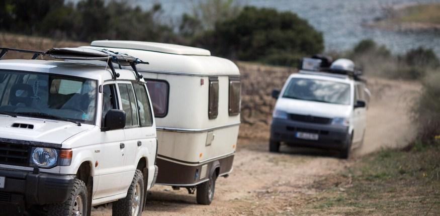 Caravan, Roadtrip, ohnwagen, Vanlife, Camper