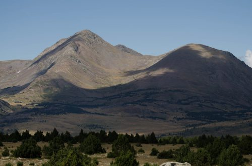 Berge der französischen Pyrenäen