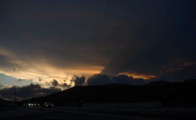 Sonnenuntergang im National Park bei Marseille
