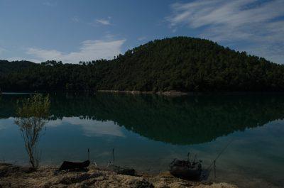 der Sonnenplatz am Lac du Saint Cassien