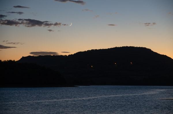 Sonnenuntergang in den Pyrenäen
